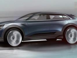 IAA 2015: Audi Q6 Elektro-SUV erstes Bild aufgetaucht 8
