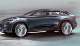 IAA 2015: Audi Q6 Elektro-SUV erstes Bild aufgetaucht 3