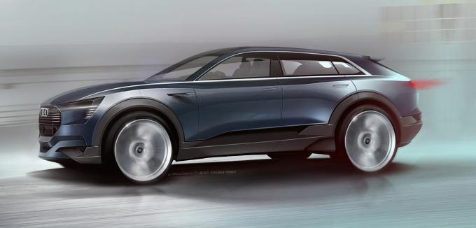 IAA 2015: Audi Q6 Elektro-SUV erstes Bild aufgetaucht 1