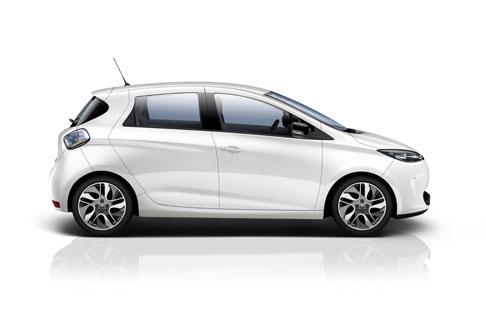 Das Elektroauto Renault Zoe