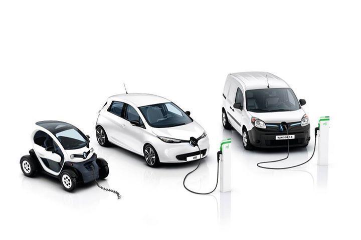 Renault Elektroautos - Twizy, Zoe und Kangoo (Bild: Renault)