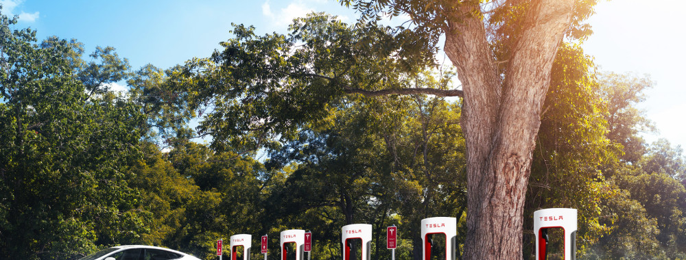 Tesla Supercharger (Bild: Tesla Motors)