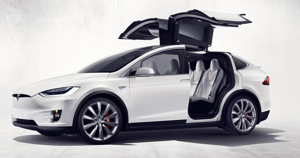 Tesla Model X vorgestellt: Der erste vollelektrische SUV 2