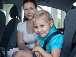 Elektroauto Kindersitz